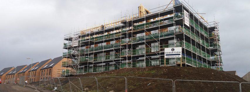 Finavon Street Residential Development Abertay Housing